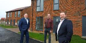 Northumberland house building partnership delivers high quality affordable homes on former colliery site