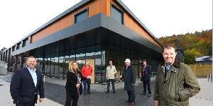 Minister visits Tyneview Retail Park as Scheme Hits Milestone