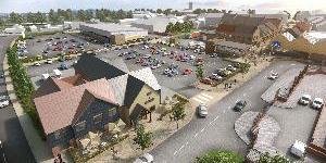 Advance Northumberland Commence Bedlington Market Place Development