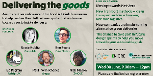 Interactive Zoom Event 'Delivering the Goods' in collaboration with NICRE and RDCIP